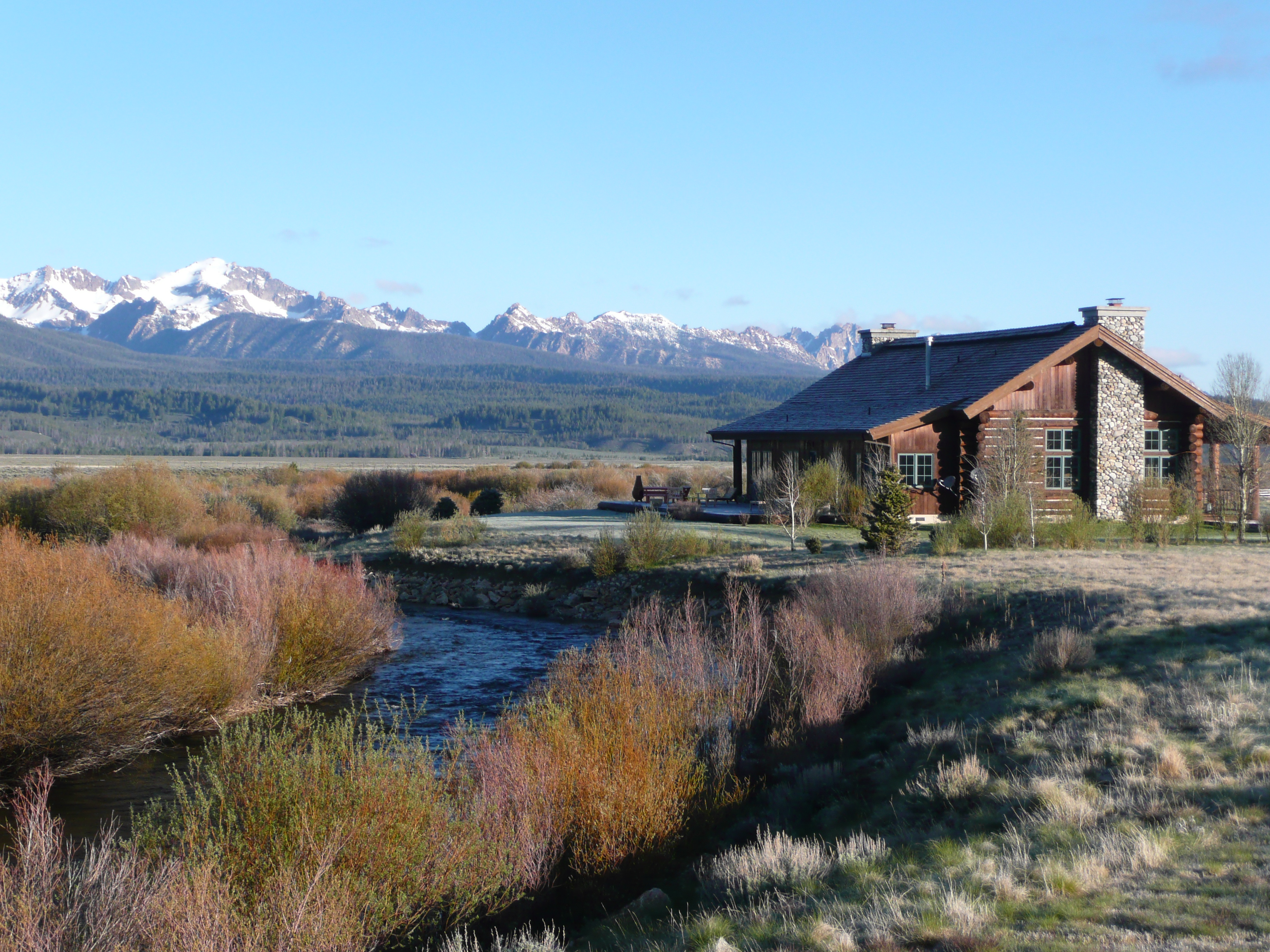 Property For Sale In Stanley Idaho